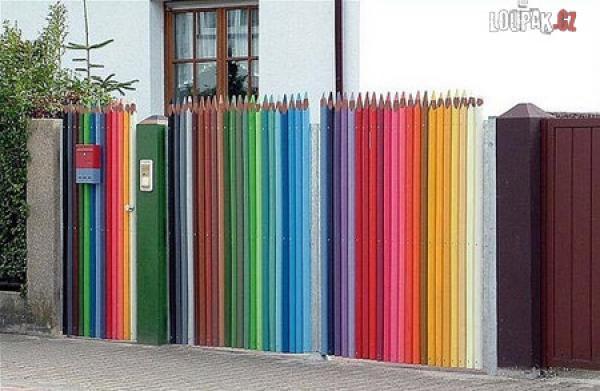 OBRÁZKY - Originální ploty