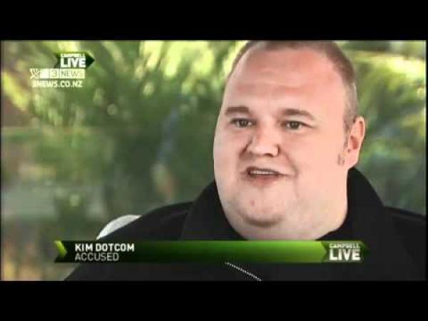 Kim Dotcom o Megaupload