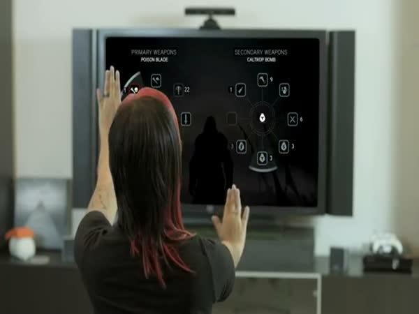 Konzole Kinect - Assassin
