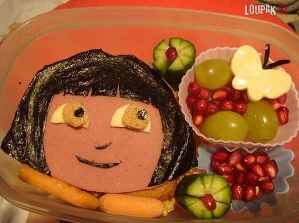 OBRÁZKY - Umění z jídla 8.díl