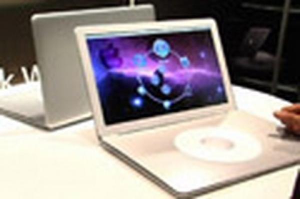 Nový notebook Apple bez klávesnice