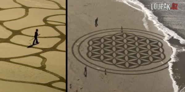 OBRÁZKY - Umění s pískem na pláži