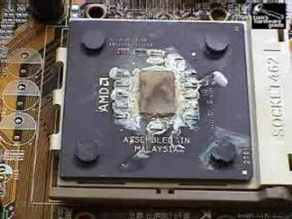 Jak zničit procesor