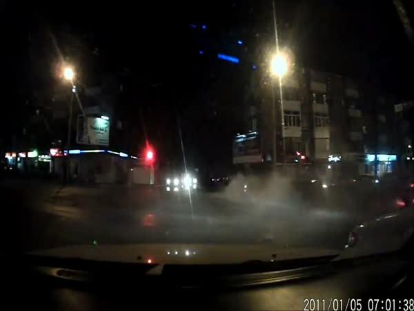 Nehoda na křižovatce