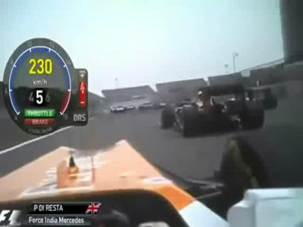Formule 1 - Kamera na helmě