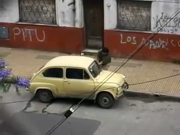 Vychytaná krádež auta