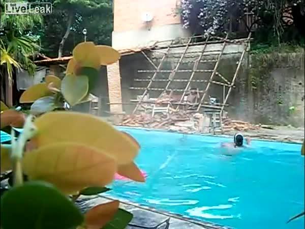 Idiot - Lezení na laně