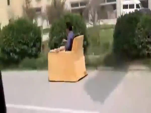 Vysokorychlostní pojízdné křeslo