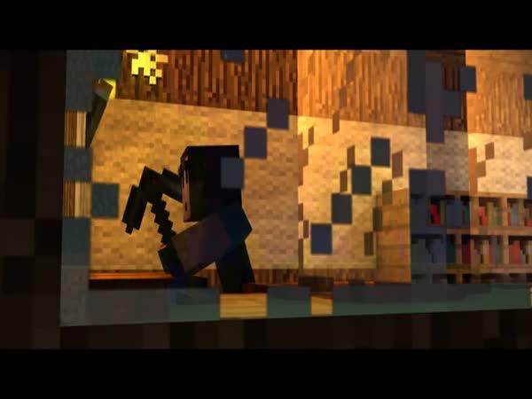 Minecraft - Pomsta Creeperům