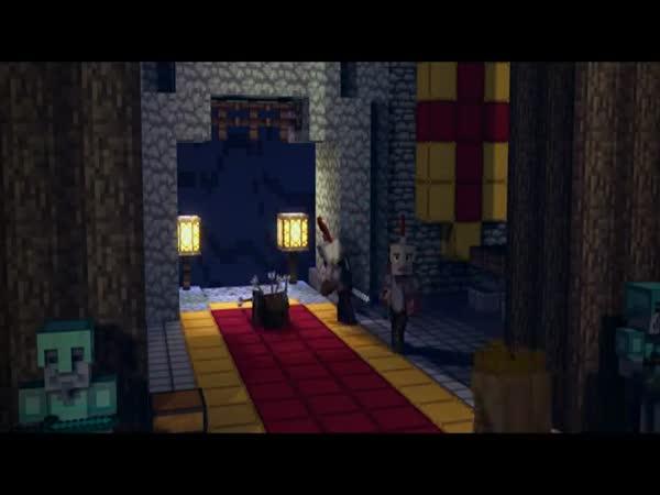 Minecraft - Padlé království