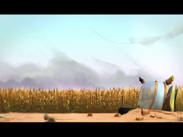 Animace – Slepice a mimozemšťan