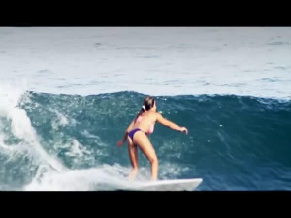 Surfařky v Mexiku