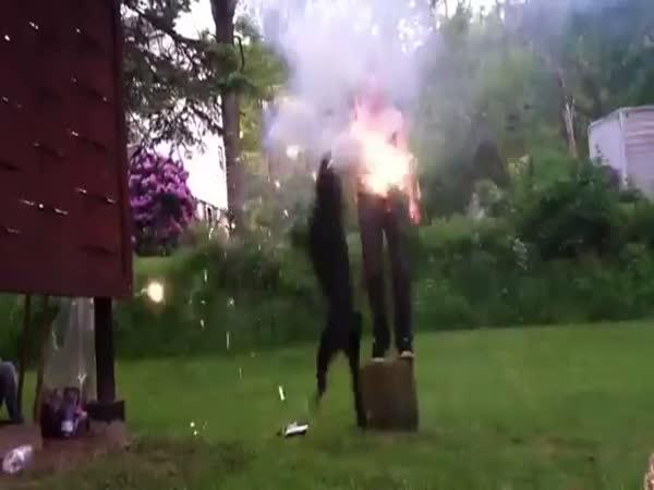 Ohňostroj v kalhotech