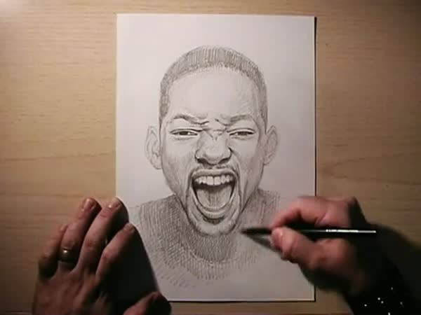 Borec - Kresba: Will Smith
