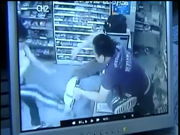 Nepovedená krádež - fail