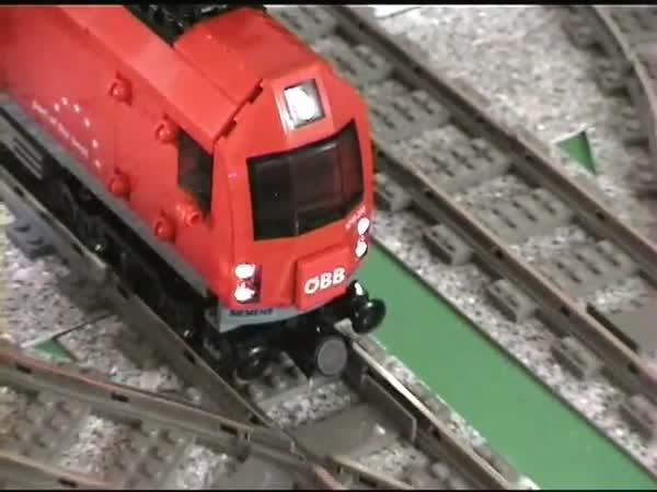 Lego - trasa pro vlak