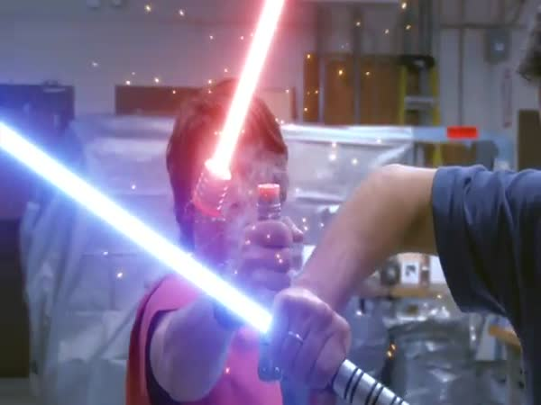 Souboj ala Star Wars 2