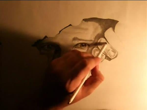 Neuvěřitelná kresba tužkou