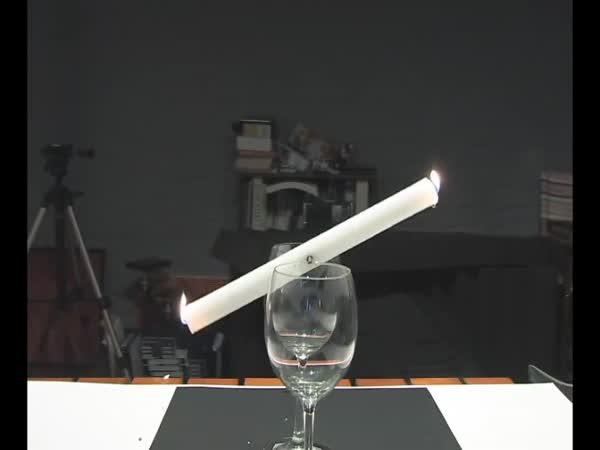 Super trik se svíčkou
