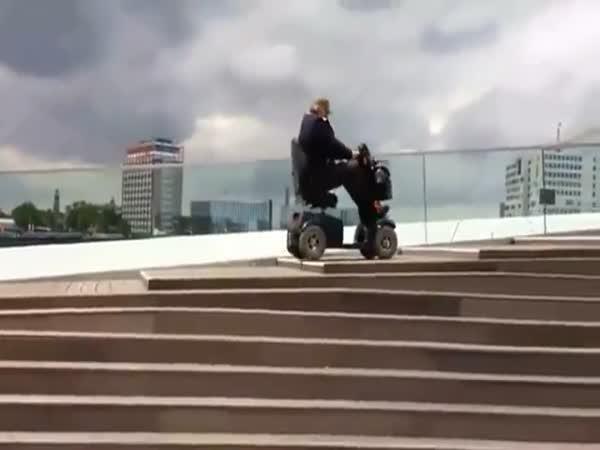 Boj se schody