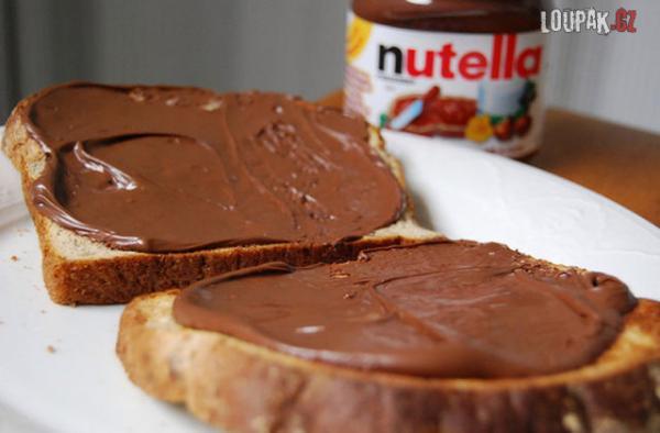 OBRÁZKY - Nutella v akci
