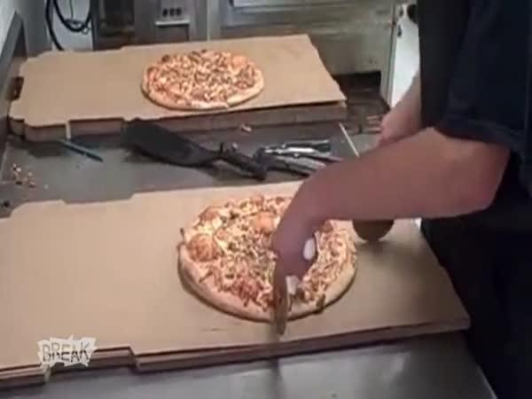 Borec - Nejrychlejší kráječ pizzy