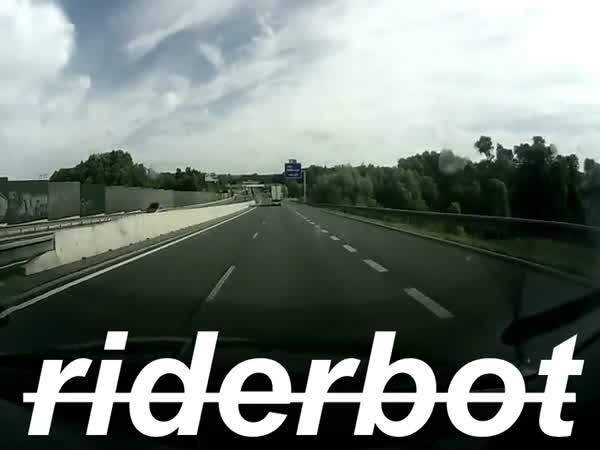 Česká republika - Štěstí na dálnici