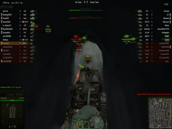 Trolling á la World of Tanks