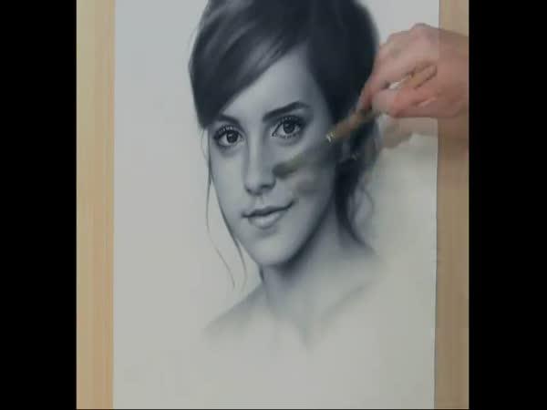Kreslení - Emma Watson