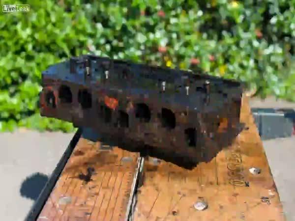 Repasování starého motoru