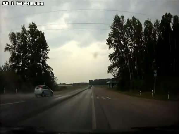 Velké potíže na ruské silnici
