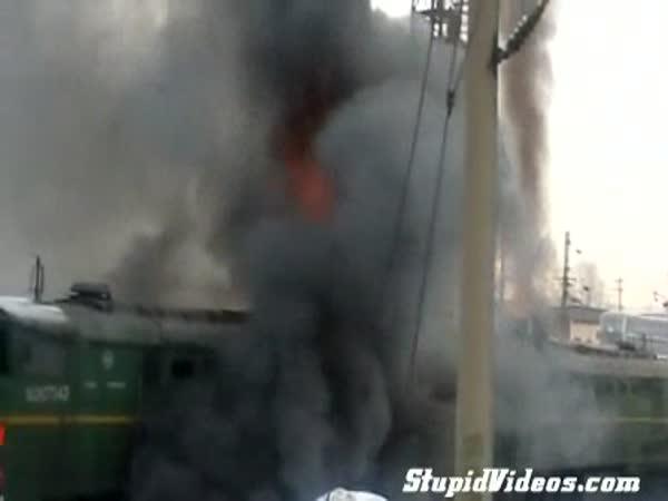 Rusko - Start lokomotivy