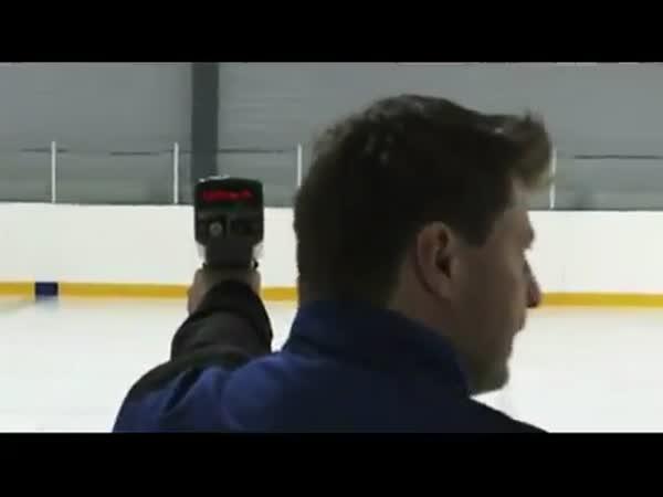 Finští hokejisté - trénink
