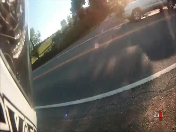 O chlup - motorkář na vyjíždce