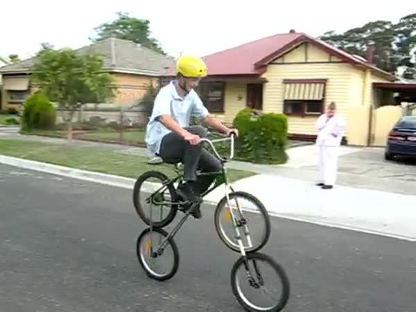 Jízdní kolo se čtyřmi koly