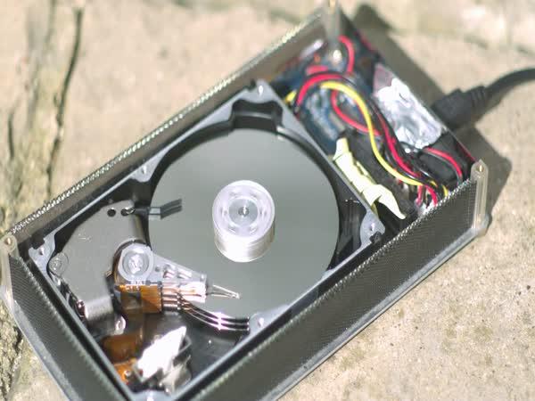 Slow Motion - zapisování na Disk