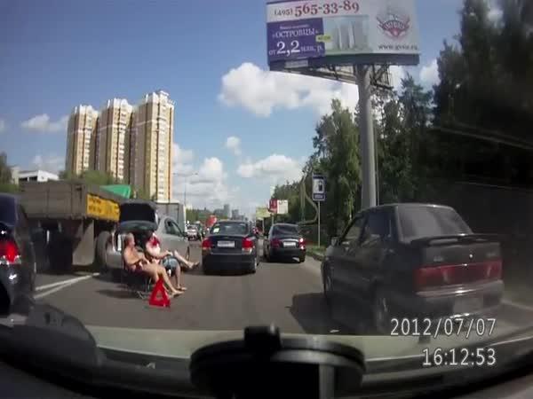 Leháro na silnici