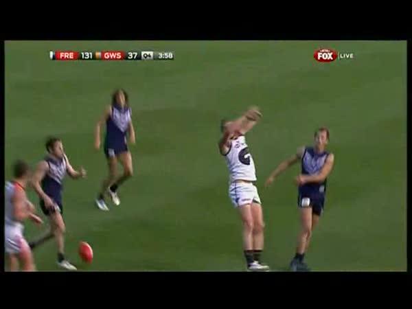Australský fotbal - nečekaná trefa