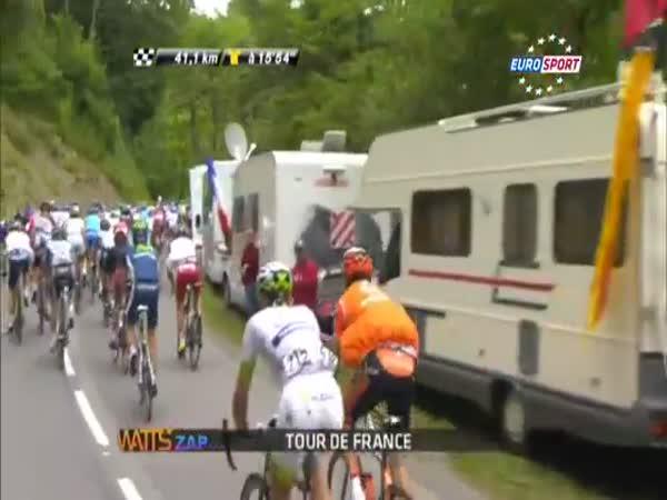 Kuriozní sportovní okamžiky -Tour de France 2012