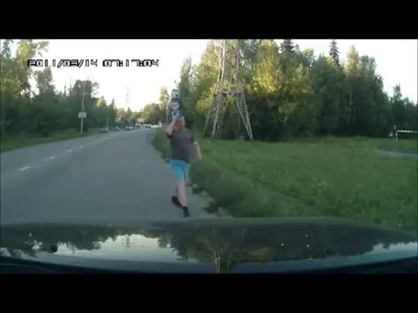 Výskok za jízdy