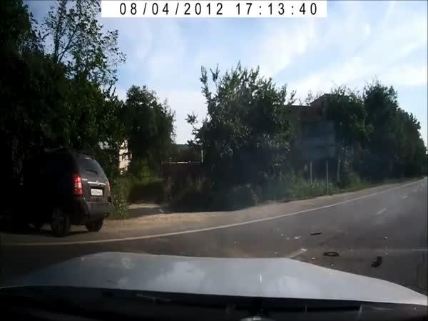 Blbec - Otáčení na silnici