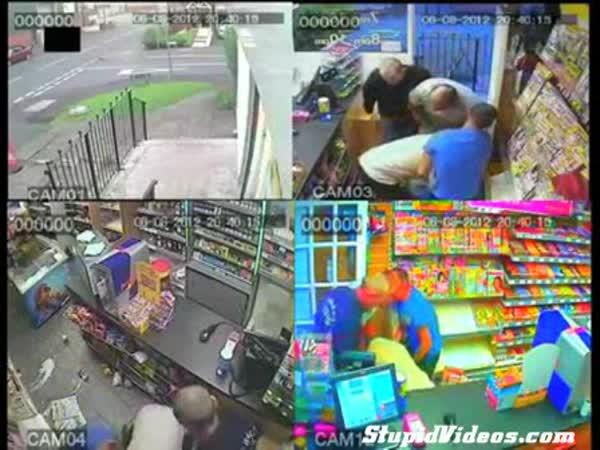 Idiot - Překvapený zloděj