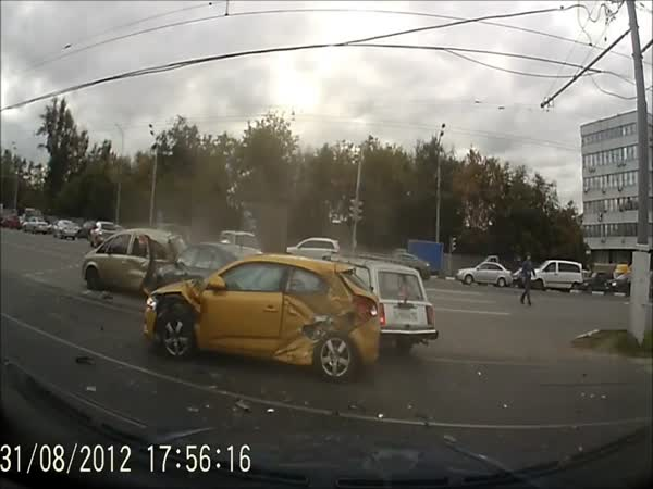 Nehoda - Snad to prorazím
