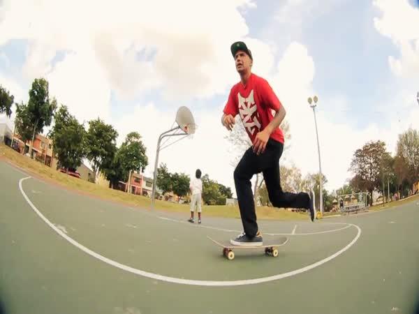 Borec - jízda na skateu