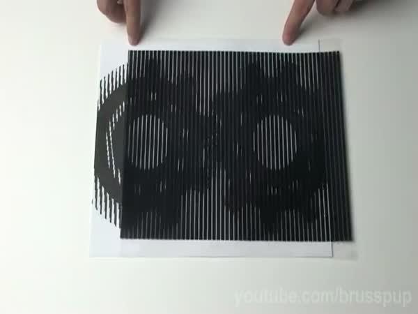 Optická iluze - pohyb 3.díl