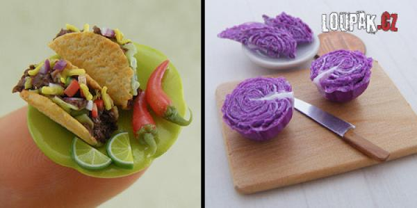 OBRÁZKY - Miniaturní jídlo 4.díl