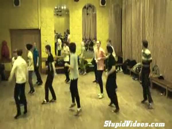 Zajímavý tanec