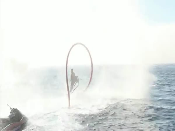Flyboard Family - zábava na moři