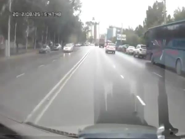 Nehoda - Brilantní parkování