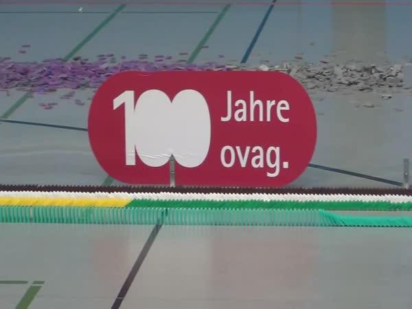 Světový rekord - domino